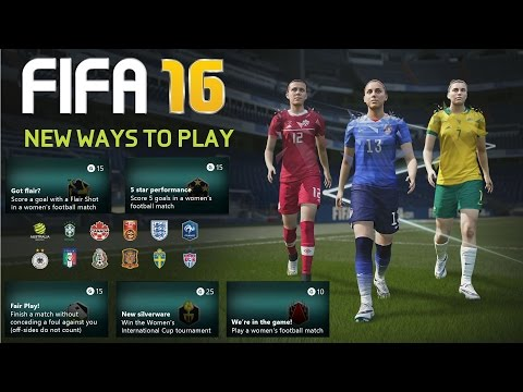 FIFA 16:  5 Star Performance, New Silverware, Got Flair?,  We're In The Game! , I Got This
