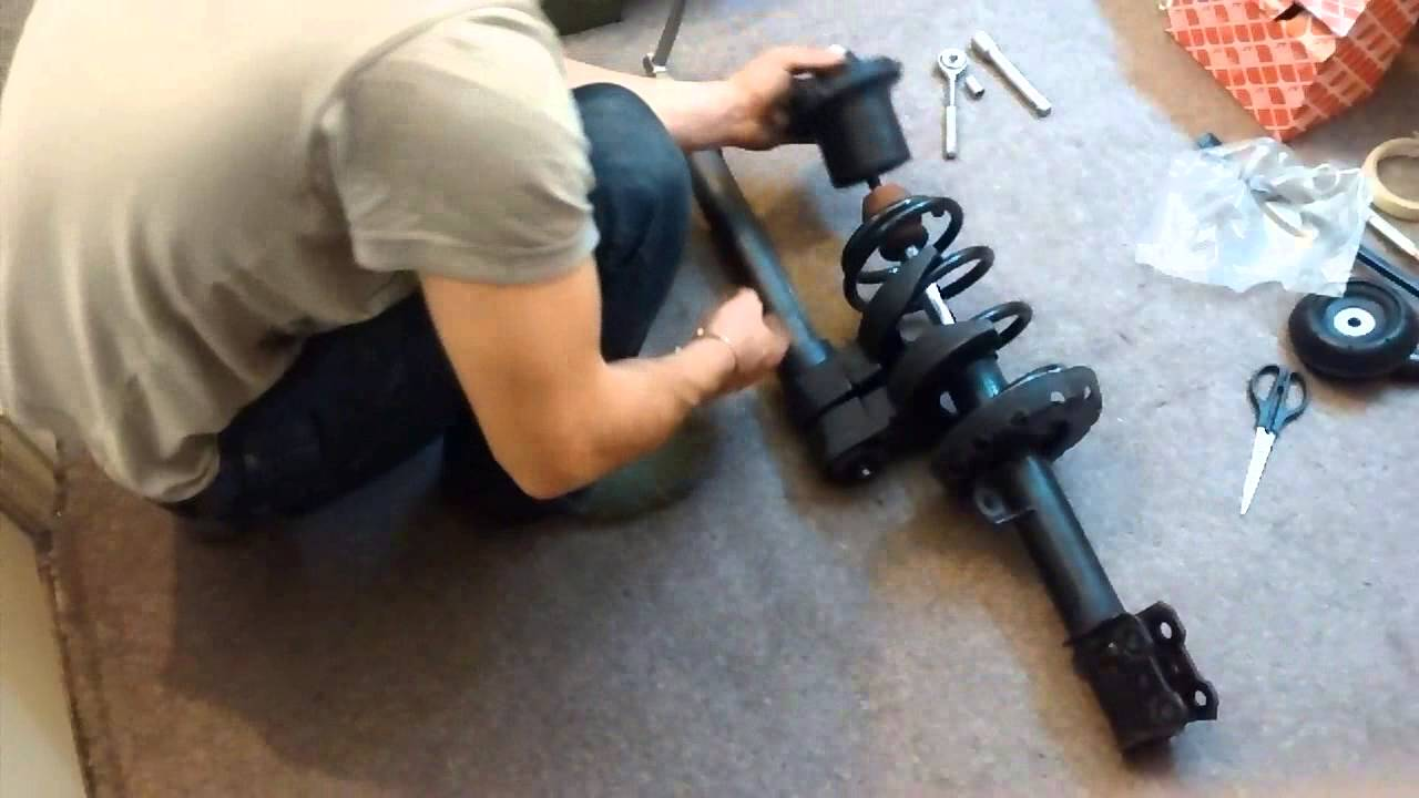 Astra Mk4 Strut Spring Replacement Youtube