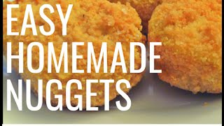 Homemade Chicken Nuggets  Easy Chicken Nuggets Recipe by Hello, Foody!
