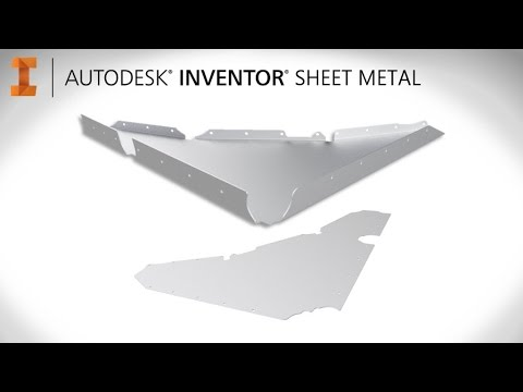 How to get started with Sheet Metal   Autodesk Inventor