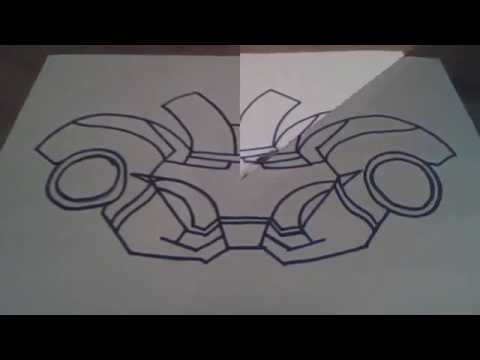 How to make iron man helmet