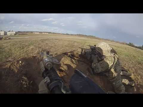 3rd platoon, Alpha company 2/87 infantry live fire exercise