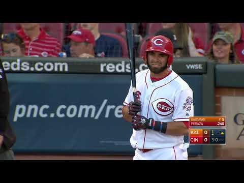 Baltimore Orioles Vs Cincinnati Reds 4.18.17