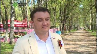 В микрорайонах Вологды прошли праздничные программы, посвященные 9 мая