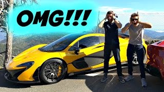 INSANE SUPERCAR CONVOY IN MONACO!!