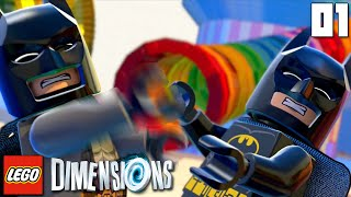 """BREAK THE RULES!!!"" LEGO Dimensions Part 01 - 1080p HD PS4 Gameplay Walkthrough"