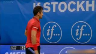 Juan Martin Del Potro vs Nicolas Almagro Highlights Stockholm 2016