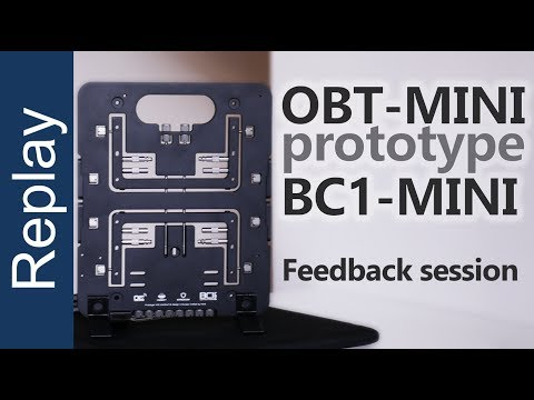 OBT-MINI prototype by OpenBenchtable Feedback session live replay