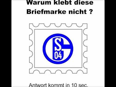 briefmarke schalke - YouTube
