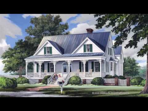 Colonial Style 2 Story House Plans