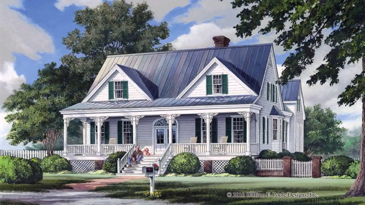 Colonial Style 2 Story House Plans (see Description) (see