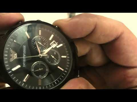 Review Replica Armani Watch AR2453 From Snapdeal