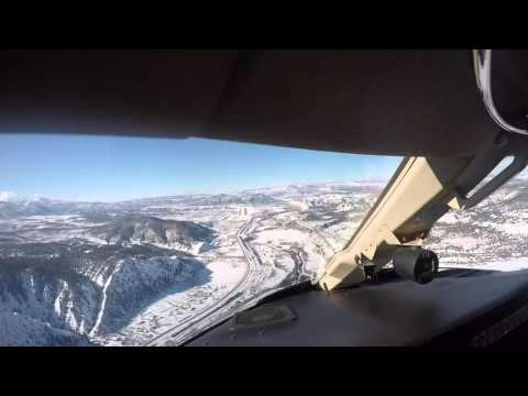Flight into Eagle - Vail, CO