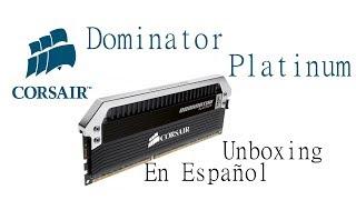 memoria ram ddr3 corsair dominator platinum 16gb 2 x 8gb