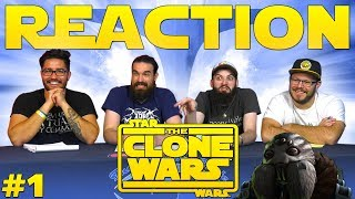 """Star Wars: The Clone Wars #1 REACTION!! """"Cat and Mouse"""""""