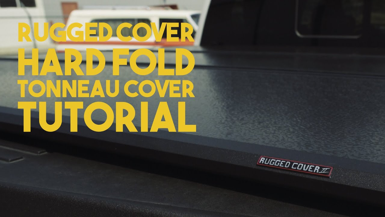 Rugged Cover Hard Folding Tonneau Cover Installation