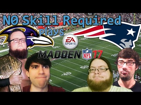 Madden 17 - Gameplay - Patriots vs Ravens