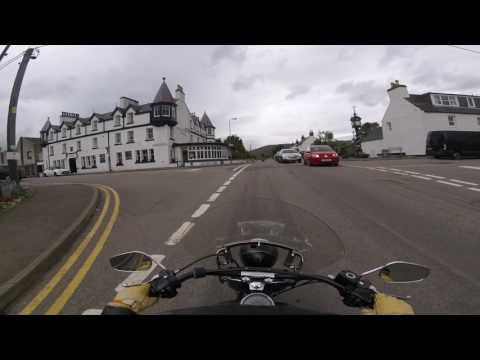 Schotland motorrit 2017: Ullapool Riverside hotel
