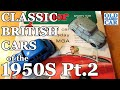 """(part 2) """"classic British Cars Of The 1950s"""" 130+ Photos, The Motor 1959, + Austin & Vauxhall Items"""