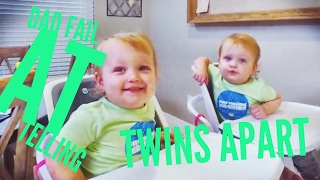 dad s failed attempt at telling twins apart