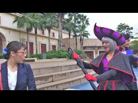 ヴェール「これ(傘)すごいんですの~」スキャター「あ、私のとなんか違う」