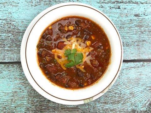 Black Bean Chili In Instant Pot