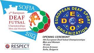 4th European Deaf Futsal Championships - ITALY - BELGIUM
