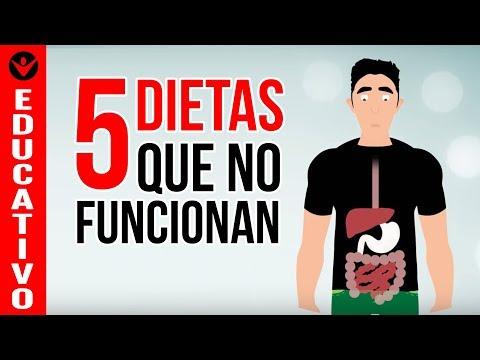 5 Dietas Populares que NO FUNCIONAN - Delfín, Alcalina, Disociadas, Bajas en Grasa, Sin Gluten
