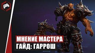 МНЕНИЕ МАСТЕРА «Grag» Гайд   Гаррош  Heroes Of The Storm