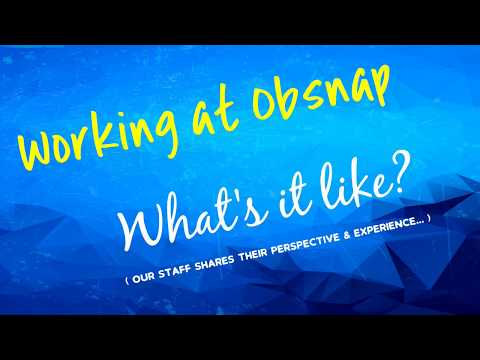 Being a Part of Obsnap Group of Companies (Malaysia) - Recruitment Video