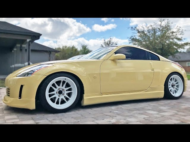 Cream Z Giveaway Ep. 2: Coilovers & Wheels!