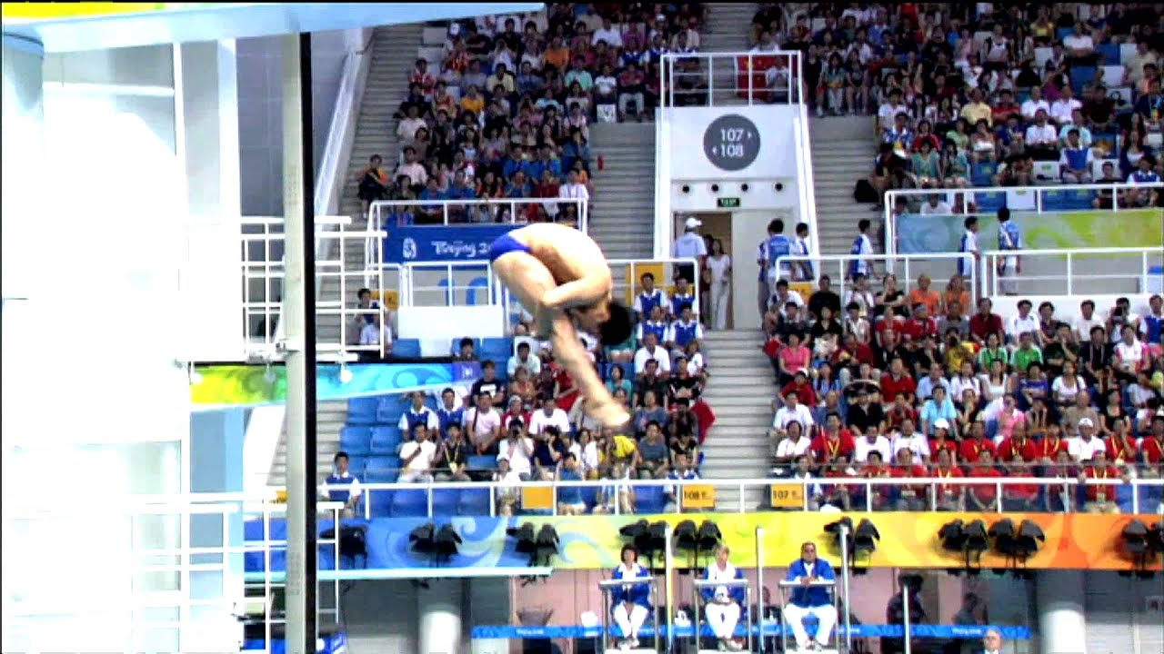 Jumping Into Olympic History Beijing 2008 Olympic Games