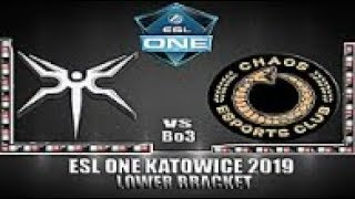 Mineski vs Chaos Esports Club [DOTA 2 LIVE]  Bo3 | Lower bracket ESL One Katowice 2019