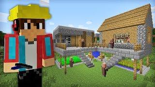 как сделать деревню жителей