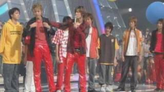 Kat-tun and Juniors (Kusano of NewS also) competing ^^ Fun and swee...