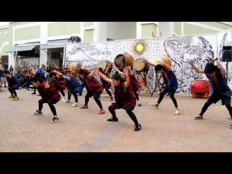 JSA Soran Bushi ソーラン節 Dance at Phoenix Matsuri Festival