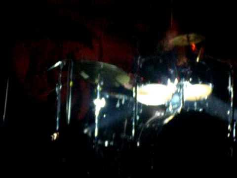 Epica live in israel 08 - Ariën van Weesenbeek drums solo