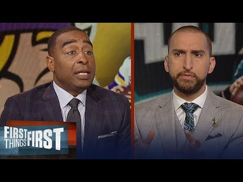 Cris and Nick questions the Eagles' identity after loss to the Vikings | NFL | FIRST THINGS FIRST