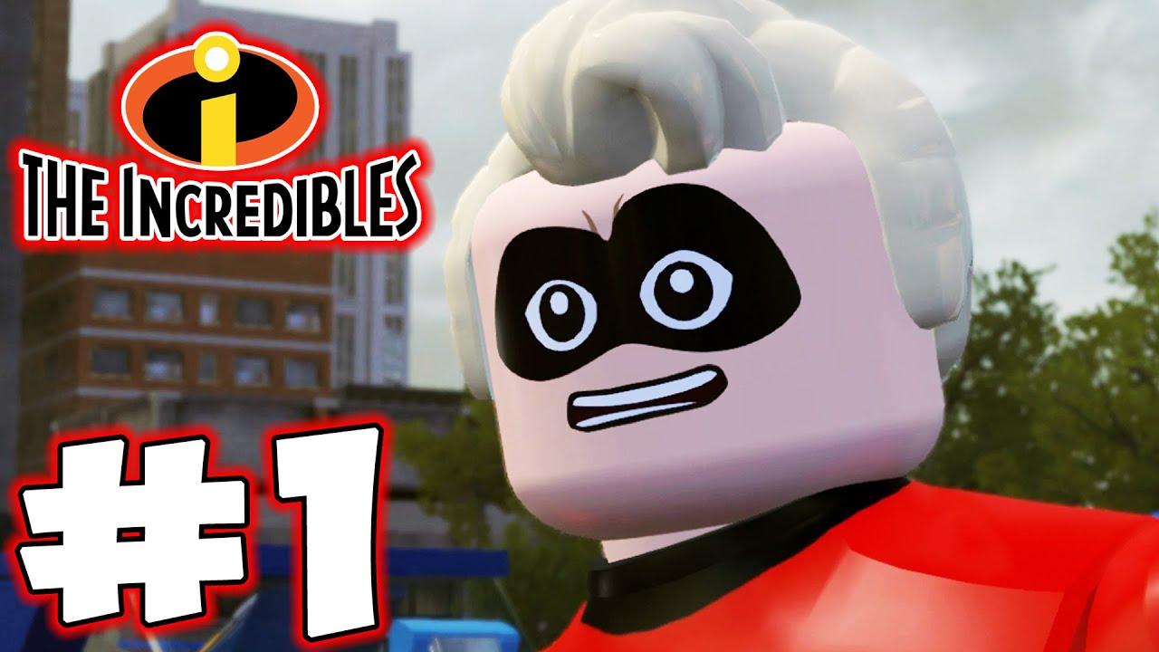 Download LEGO INCREDIBLES - Part 1 - MR. INCREDIBLE! (HD Gameplay Walkthrough)