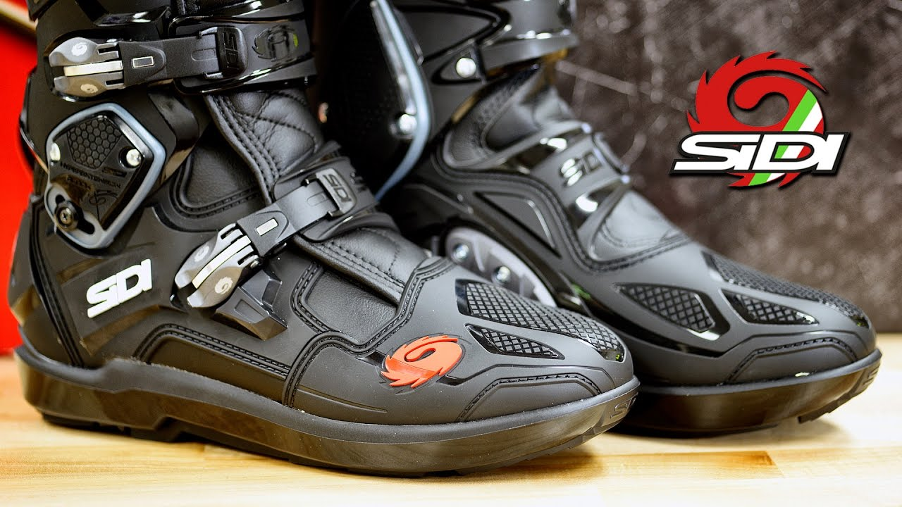 sidi crossfire 3 srs motocross boot review youtube. Black Bedroom Furniture Sets. Home Design Ideas