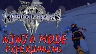 Kingdom Hearts 3 - Free Running and Parkour!