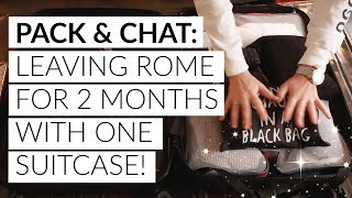 PACK & CHAT: Leaving Rome & Travel Anxiety