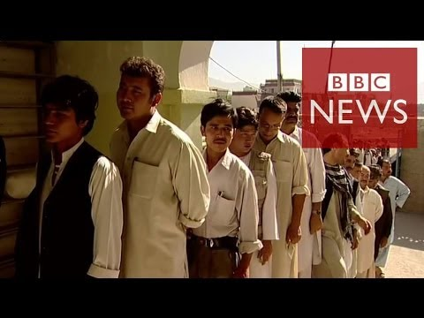 Why Afghanistan's election matters in 60 seconds - BBC News