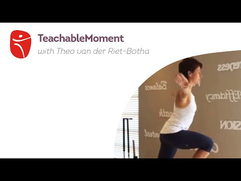 Teachable Moment with Theo van der Riet-Botha
