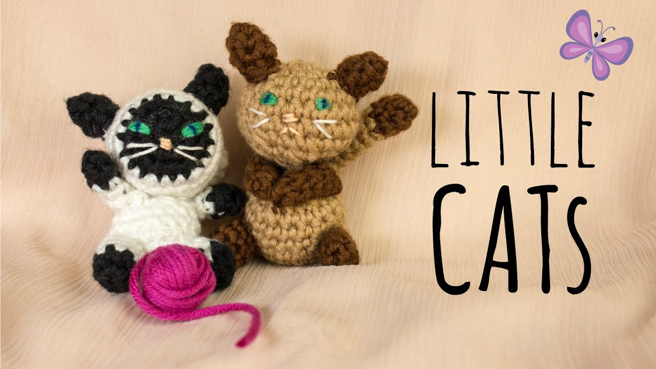Kleine Katze · Häkelanleitung *Do it Yourself* | Amigurumi - YouTube