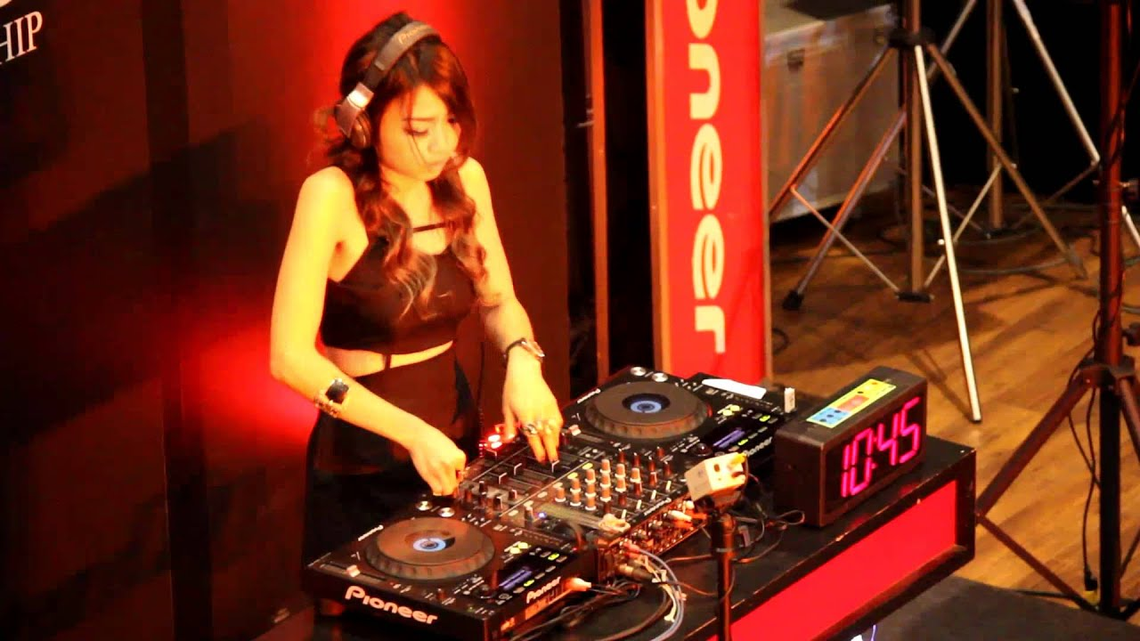 Dj Girl Wallpaper Hd Pioneer Lady Dj Championship 2012 Semi Final Hd Youtube