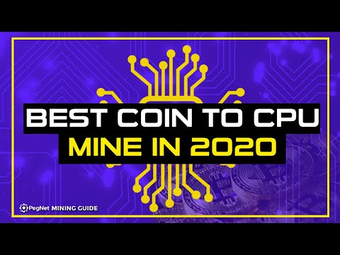 Best Coin To Mine With A CPU In 2020 | Pegnet Mining Guide