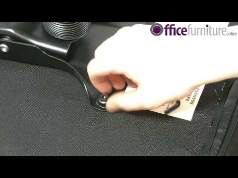 Turin Leather Office Chair Assembly