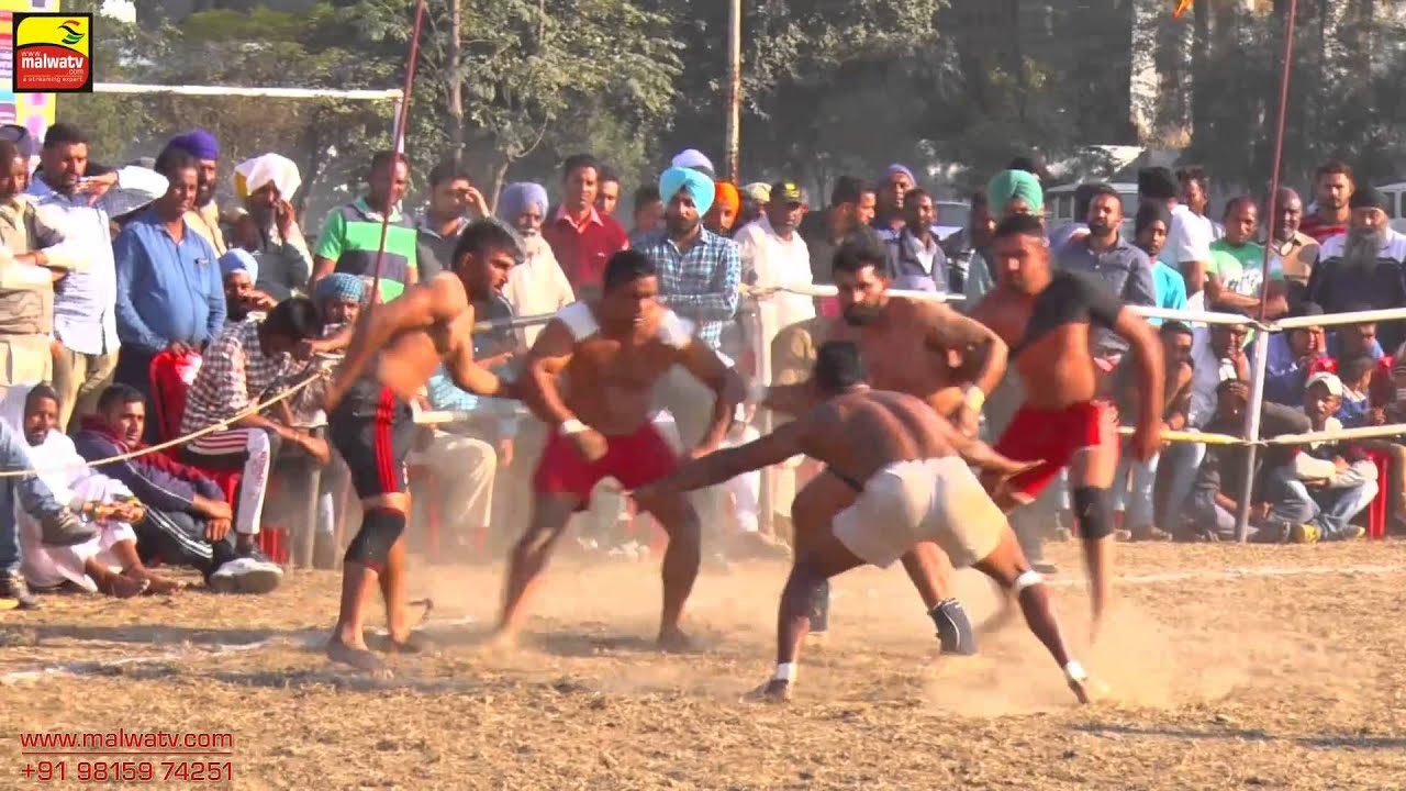 DASUYA (Hoshiarpur) | KABADDI CUP - 2015 | QUARTER FINALS 3rd & 4th | Full HD | Part 2nd.