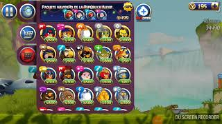 Personajes de angry birds star wars 2